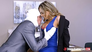 Natasha For detail seduced an injured fellow for a plowing game