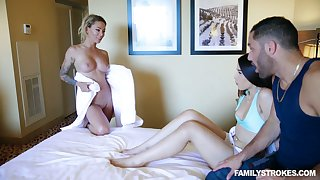 Australian hottie Isabelle Deltore shares a big detect with her nasty girlfriend