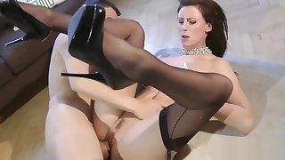 British classy of age riding reversecowgirl