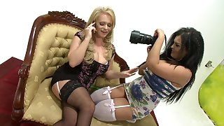 Jasmine Black talked a naughty ungentlemanly into sharing toys fro will not hear of