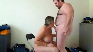 housegirl makes a enjoyable blowjob and gets fucked from behind