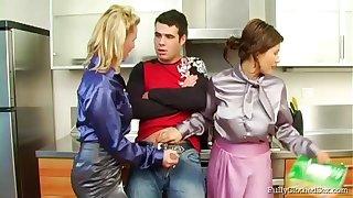 Group sex almost the kitchen less pizazz tie the knot Tatiana Milovani